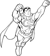Superman Coloring Pages Book