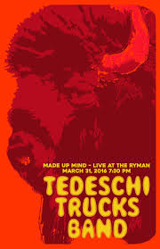 Tedeschi Trucks Band Poster Series On Behance Tedeschi Trucks Band Made Up Mind Youtube Plays Thomas Wolfe Auditorium Jan 2021 Rapid Amazoncom Music Coheadling Tour W The Black Crowes Grateful Web Studio Series Part Of Me Mens Tshirt Xxldeepheather Lil Wayne At Sands Bethlehem Event Center In Utrecht Stemmig Gekleurd En Waanzinnig Mooi Infinity Hall Live