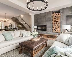 farmhouse living room fireplace living