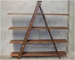 wooden ladder bookshelf home design ideas