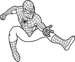 Spiderman Coloring Pictures Print Out Venom Pages Printable Kids Full Size