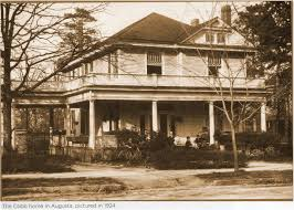 Halloween City Augusta Georgia by Ty Cobb Home 1924 Augusta Ga Augusta Ga Pinterest Georgia