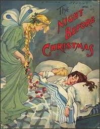 Twas The Night Before Halloween Book rare 1883 the night before christmas book by clement c moore