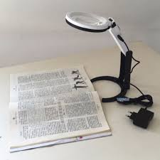 Triumph Desktop Magnifying Lamp by Desk Lamp With Magnifier Hostgarcia