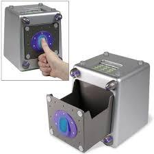 mini coffre fort a code cadeau special enfant mon premier coffre fort à rayon laser