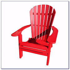 Red Adirondack Chairs Polywood by Improving A Backyard U0027s Gentle Look With Red Adirondack Chairs Plastic
