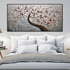 zxp malerei der modernen kunst handgemaltes ölgemälde glücksbaum auf der leinwand schlafzimmer wohnzimmer wand hintergrund dekoration fresken drucken