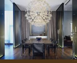 Contemporary Dining Room Chandeliers For Photo Of Worthy Modern Crystal