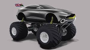 100 Monster Truck Horsepower Aston Martin Project Sparta Revealed As 1100HP