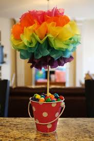Graduation Table Decorations To Make by Best 25 Rainbow Centerpiece Ideas On Pinterest Birthday