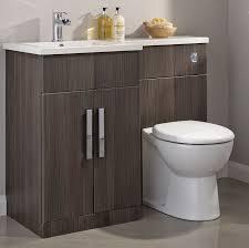 L Shaped Bathroom Vanity Unit by Cooke U0026 Lewis Ardesio Bodega Grey Lh Vanity U0026 Toilet Pack