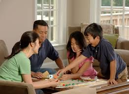 FileFamily Playing A Board Game 3