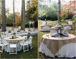 Simple Wedding Decor DIY Garden Ideas Outdoor Decoration