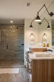 Espresso Bathroom Wall Cabinet With Towel Bar by Small Modern Master Bathroom Ideas Simple Black Metal Hanging