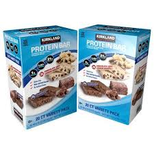 Costco Kirkland Signature Protein Bars 1799 For 20 Pack In Stores Quest Bar Clone