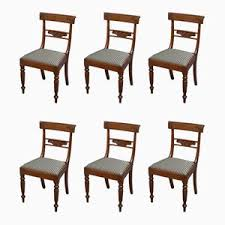 antique edwardian inlaid mahogany chair for sale at pamono
