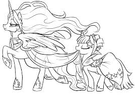Coloring Pages Ponies Fancy My Little Pony 54 On