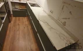 berlin ikea küche mit quarzo level keramik arbeitsplatten