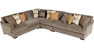 Cindy Crawford Furniture Sofa by 2 377 00 Essex Street Granite 4 Pc Sectional Contemporary
