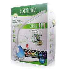 Ottlite Desk Lamp Colour Changing by Ottlite Led Executive Desk Lamp 3 Color Modes With Usb Charging