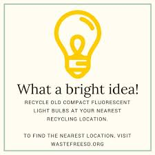 compact flourescent light cfl bulbs contain mercury which if