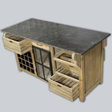 meuble cuisine central awesome meuble range bouteille 8 206lot central bois massif