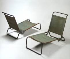 Canvas Lounge Chairs Charlotte Perriand | Product Design ...