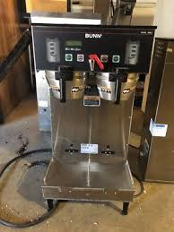 Bunn Dual Sh Dbc Coffee Maker Commercial Brewer Used