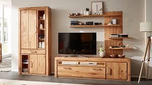 interliving wohnzimmer serie 2003 wohnkombination geölte asteiche dreiteilig breite ca 308 cm