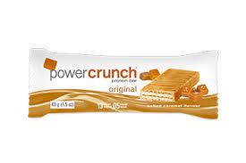 Power Crunch Salted Caramel Bars