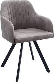 riess ambiente de stuhl lucca taupe grau mit edler steppung roadster armlehnenstuhl esszimmerstuhl