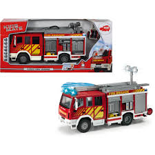 Dickie Toys International Iveco Fire Engine,Try Me (11
