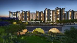 100 Utopia Residences Brigade By Brigade Group 1 And 2BHK Apartments HOUSEnLOT India