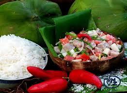 cuisine tahitienne recette de poisson cru au lait de coco a la tahitienne