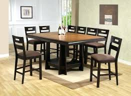 High Dining Room Table Chairs Designs Gloss Furniture