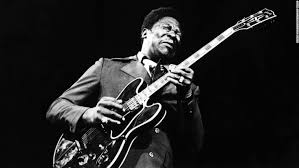 Blues Legend BB King Plays Guitar On Stage In This Undated Photograph Died Thursday