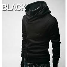 Buy 2012 Autumn Male Jacket Personality Trend Of Fashion Oblique Zipper With A Hood Mens