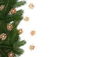 Christmas Tree Frame Stock Photo