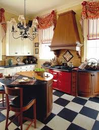 White Kitchen Curtains With Red Trim by 198 Best Window Treatments Images On Pinterest Curtain Ideas