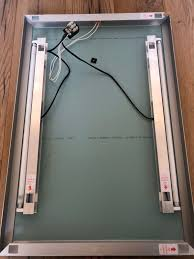 beleuchteter spiegel für badezimmer 55x80cm