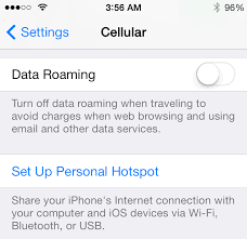 Several users plaining of Hotspot issues in iOS 7 1