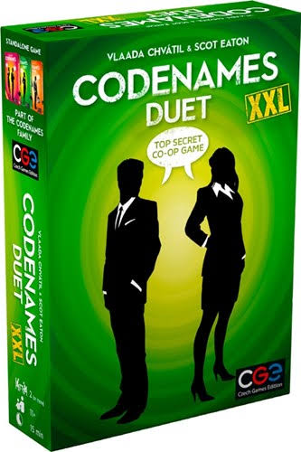 Codenames: Duet XXL Card Game