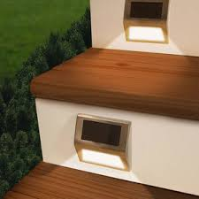 Solar Lights For Deck Stairs by Step Lights You U0027ll Love Wayfair