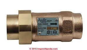 Floor Drain Backflow Device by Water System Backflow Preventers U0026 Check Valves Diy Repairs