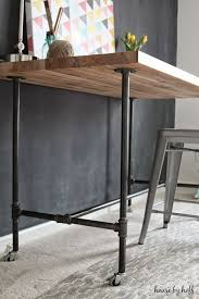 Building A Simple Wood Desk by Best 25 Pipe Desk Ideas On Pinterest Industrial Pipe Desk Diy