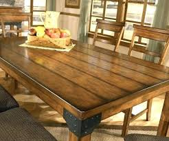 Farmhouse Table With Leaves Large Size Of Dining Person Build