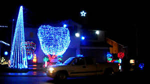 Christmas Tree Lane Ceres Ca Address by Modesto Christmas Light Display Youtube