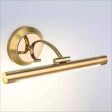 amerikanischen ländlichen retro bronze führte spiegelleuchte für badezimmerschrank make up wandleuchte 39 54 73 cm 80 265 v 1601