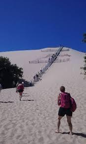 escaliers de la dune du pyla picture of dune du pilat la teste