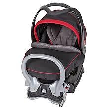 siege coquille baby trend ez flex loc 32 lb infant car seat black slate baby